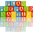 Plan prepare practice — Stock Photo #61578471