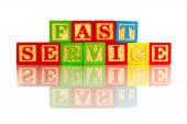 Fast service — Stock Photo