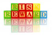 Risk reword — Stock Photo