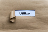 Utilize — Stock Photo