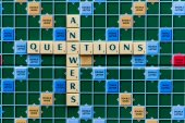 Questions answers — Stock Photo