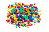 First love — Stock Photo
