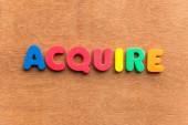 Acquire — Stock Photo