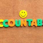 Accountable — Stock Photo #68865781