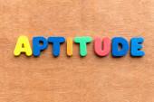 Aptitude — Stockfoto