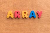 Array — Stock Photo