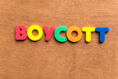 Boycott — Stock Photo