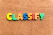 Classify — Stock Photo