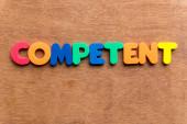 Competent — Stock Photo