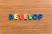 Develop — Stock Photo