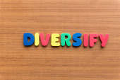 Diversify — Stock Photo