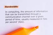 Bandwidth — Stock Photo