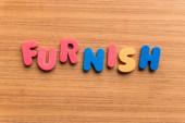 Furnish — Stock Photo