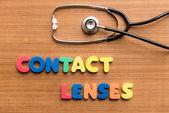 Contact lenses — Stock Photo