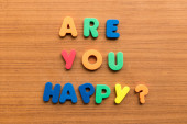 Are you happy? — Stock Photo