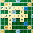 Company profit capital team — Stock Photo #76046849