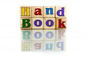 Handbook — Stock Photo