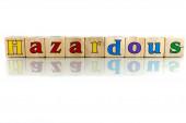 Hazardous — Stock Photo
