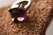 Purple ring — Stock Photo