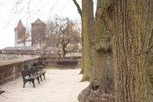 赤レンガからドイツの古い建物 — ストック写真