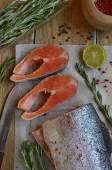 Fresh trout — Stock Photo