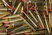 Background of military ammunition — Stock Photo