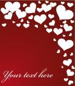 Valentine's Day card — ストックベクタ