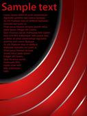 Dark red text brochure with color gradient — Stock Vector