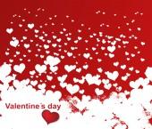 Valentine theme card — Stock Vector