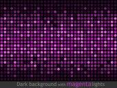 Abstract magenta lights — Stock Vector