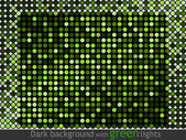 Pattern made of flashing points — Stock Vector