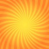 Orange twisted background — Stock Vector