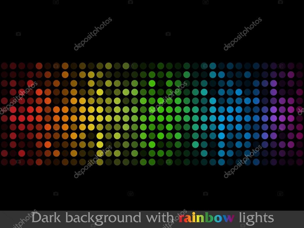 Luces de colores abstractos vector de stock 69808439 for Luces de colores