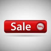 Label with word sale — Vetor de Stock