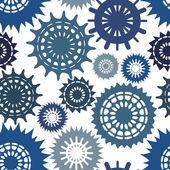 Seamless pattern with circles — Stock Vector