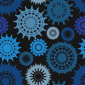 Dark seamless pattern — Stock Vector