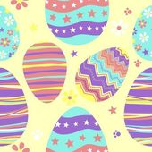 Seamless easter pattern — Vector de stock