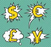 CURRENCY SIGN VECTOR — Stock Vector
