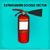 Extinguisher — Stock Vector