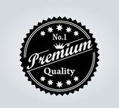 Premium EMBLEM OR LABEL VECTOR — 图库矢量图片