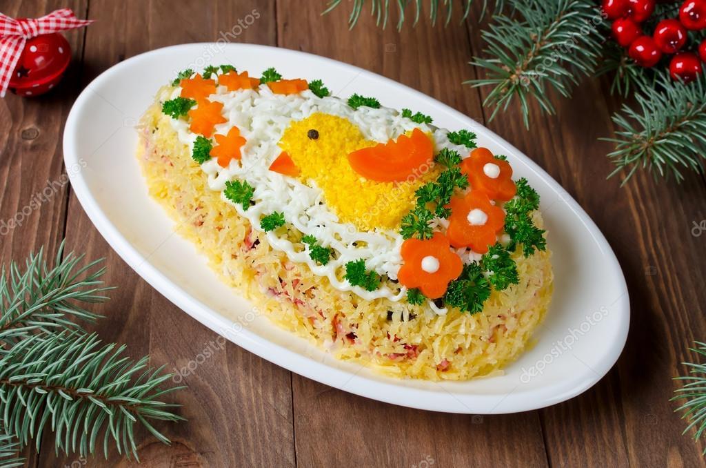 Новые праздничные блюда рецепты