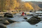 River  thresholds — Stock Photo