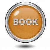 Book circular icon on white background — Stock Photo