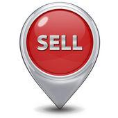 Sälja pekarikonen på vit bakgrund — Stockfoto