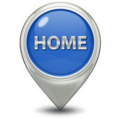 Home pointer icon — Stock Photo