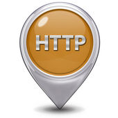 Http pointer icon on white background — Stock Photo