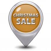 Kerstmis verkoop muisaanwijzer op witte achtergrond — Stockfoto