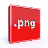 Png square icon — Stock Photo