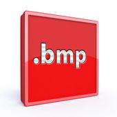 Bmp square icon — Stok fotoğraf