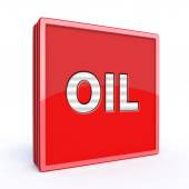 Olie vierkante pictogram — Stockfoto